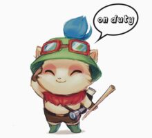 Captain Teemo  by flameblites
