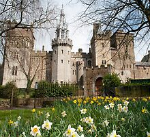 Cardiff Castle and the Barbican tower by photoeverywhere