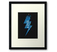 Thunder City Framed Print