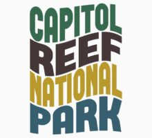 Capitol Reef National Park by Location Tees