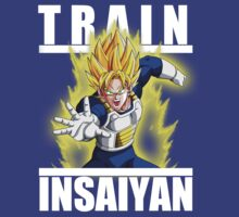 Train insaiyan - Goku saiyan armor by Ali Gokalp