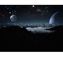 Beyond the blue horizon. Photographic Print