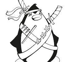 Ninjuin - The Ninja Penguin by chrisbears
