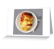 All the Bacon and Eggs Greeting Card