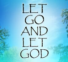 Let Go and Let God September Sky by serenitygifts