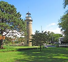Erie Land Lighthouse by Jack Ryan