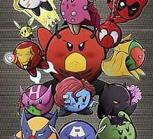 Kirbys, assemble! by OliverDemers