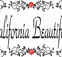 Floral California Beautiful  by expressioniskey