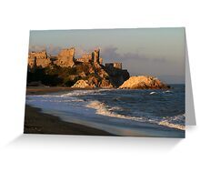 Mamure Castle in Anamur Greeting Card