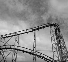At Hastings, roller coaster 2 by Gabriele M - emmarts