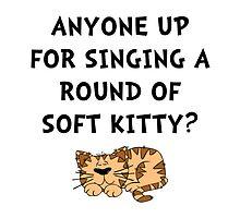 Soft Kitty by AmazingMart