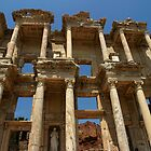 Library of Celsus in Ephesus by Jens Helmstedt