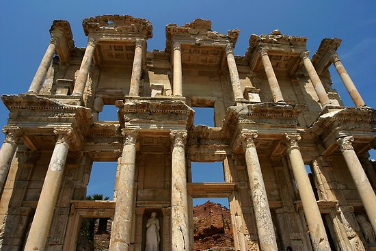 Library of Celsus in Ephesus by Jens Helmstedt