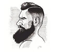Kenny Brain - Bearded War Lord Photographic Print