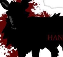 Hannibal (ShrikeElk) Sticker