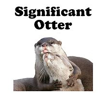 Significant Otter by AmazingMart