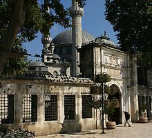 Mosque and Tomb of Eyyub el Ensari in Istanbul by Jens Helmstedt