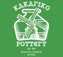 Kakariko Pottery by beanzomatic