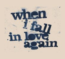 when i fall in love again by luckylittle