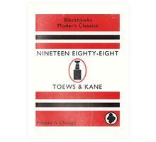 Nineteen Eighty Eight Book Cover Art Print
