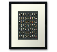 26 Years Of Bruce Framed Print
