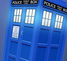 Doctor Who TARDIS Phone Case by broniesunite