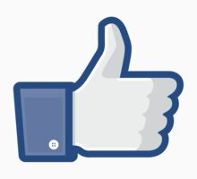 Facebook Like Thumbs Up by bookface
