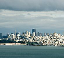 san francisco cloudy skyline by photoeverywhere