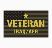 VETERAN - Iraq and Afghanistan - I Served Sticker by robotface
