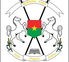 Coat of Arms of Burkina Faso  by abbeyz71