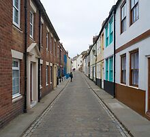 Henrietta Street in Whitby by photoeverywhere