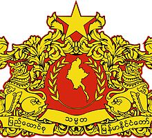 State Seal of Burma (Myanmar)  by abbeyz71