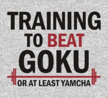Training to beat Goku by Lamamelle