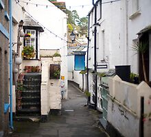 Polperro fishing village, Cornwall by photoeverywhere