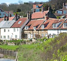 Sandsend cottages by photoeverywhere