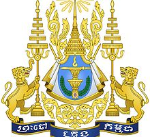 Royal Arms of Cambodia  by abbeyz71