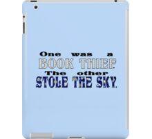 Book Thief/Sky Stealer iPad Case/Skin