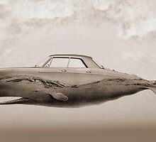 the Buick of the sea - sepia by vinpez