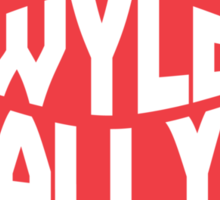 Bill & Ted's Band Tour shirt (dark clothes) Sticker