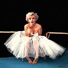 Marilyn Monroe Portrait by Gabriel T Toro