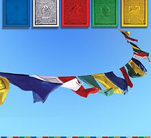 Tibet prayer flags by prayerflags