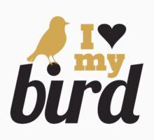 I love my bird by blackestdress