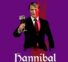 Team Hannibal - Dr. Hannibal Lecter by elektro