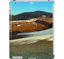 Scenic view below the Bohemian Forest | landscape photography iPad Case/Skin