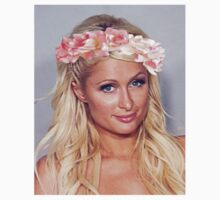 Paris Hilton 'Flower Crown' Mugshot  by buscemid