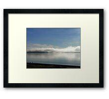 Nubes bajas... Framed Print