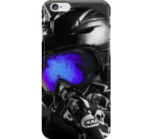 Les Menuires Boarder (II) iPhone Case/Skin