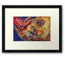 The Chagall Dreams II Framed Print