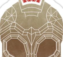 Geometric Trojan Helemt Sticker