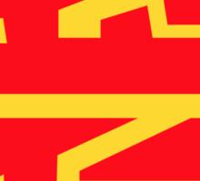 Gagaga crest Sticker